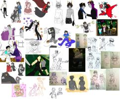 HOMESTUCK DUMP OCT-NOV by Vasheren