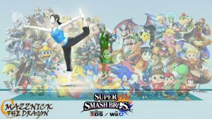 SSB4 Wallpaper Wii Fit Trainer by Mazznick