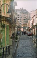 Streets of Thessaloniki by sharktooth