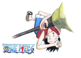 OP: Monkey D. Luffy - Ruffy by Freaky-chan