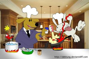 Cooking without Looking by dektung