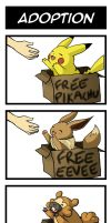 Pokemon 4koma - Adoption by jamuko