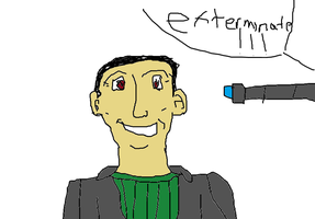 the ninth doctor by Milkinashoe