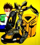 The 2013 Bumblebee by InkArtWriter