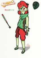 Steven Universe OC- Bloodstone by cartoonwho