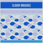 [For SAI] Cloudy Brushes by ASlovesLisa