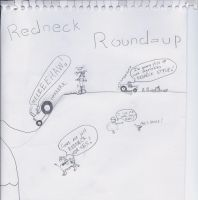 Redneck Round-Up by King-Doodles