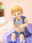 Zatch Bell and the Volcan 300 by shadowkitsunekirby