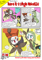Mawile Jaw - There is a single Meloetta by LaahGata