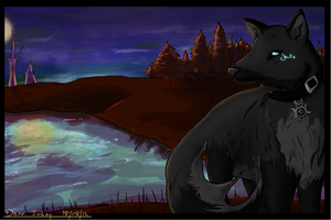 Night Hunt by RheaTheLegless