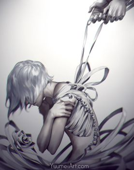 Come Undone by yuumei