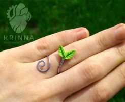 Lifebloom ring by Krinna