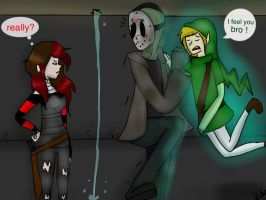 Ben and Jason worst nightmare! by KillingKate1