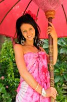 Tara - balinese umbrella 2 by wildplaces