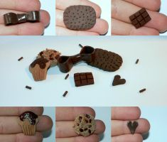 Chocolate Cabochons by melijan