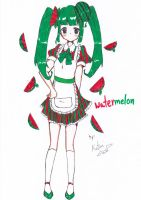 water melon by Choulaphone