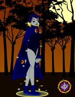 Raven the Witch? 1 by Dragon-FangX