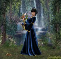 The Blue Rose by Kath-13