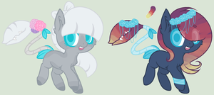 Pastel Plant Pony Adopts - Closed by C-C-C-CROWN
