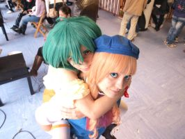 Ranka and Sheryl by LenaleeDokuro