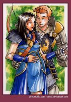 PSC - Alistair and Cousland 3 by aimo
