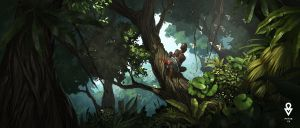 ATOL Jungle scene by ATArts