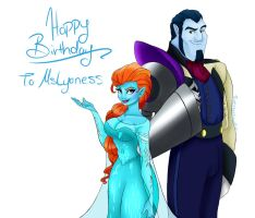 Birthday Gift: MsLyoness by TheSpaceCowgirl
