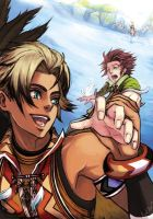 Suikoden III- Flying Contest by Kukico