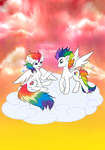 RAINBOW PRIDE and PRISM by KawaiiShiro