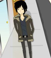 Izaya, The Information Broker by imuffinator