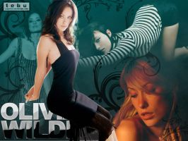 Olivia Wilde Wallpaper by papatom