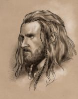 Thorin Oakenshield by rfcunha