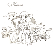 FURUBA- almost full cast... by inuyashasno1girl