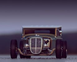 Gaz AA Hot Rod - Rat Rod by sergoc58