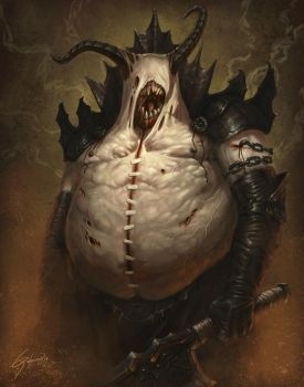 Tubby Demon by Emortal982