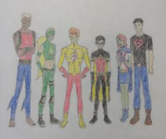 Young Justice Groupie by RascalJoy