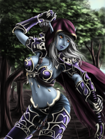 Sylvanas Windrunner by moerden