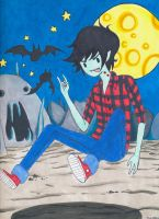 Marshall Lee the Vampire King by xxswanfeather