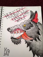 Hungry like the wolf by Kayboy14