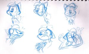 Sarah Faces 031314 by Atrox-C