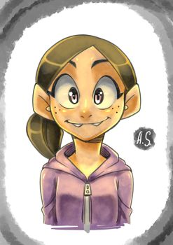 Ronnie Anne 2 by AngryScaven