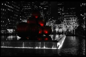 Deck the fountain by Phoeni-xx