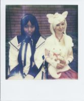 Homura Akemi and Kyubey by TPJerematic