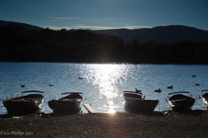 Sunset over Keswick Lake by Red-Smurfette