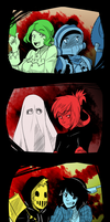 A Cursed Halloween! by Miss-Sheepy