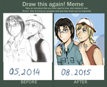 Meme  Before And After - Friendly Rivals by Oljum