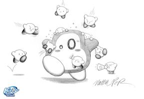 Kirby Mass Attack by crazy4kirby