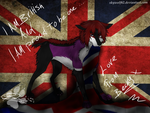 I Am British: Becky Wolf by Chibi-Cola-SkyWolf62