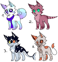 CLOSED - Canines Adoptables 419 by LeaAdoptables