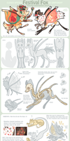 Festival Foxes Species sheet - CLOSED SPECIES by griffsnuff